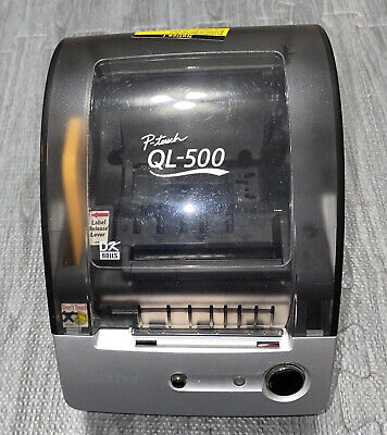 Brother P-touch Ql-500 Thermal Label Printer - Tested And Working Clean - Euc