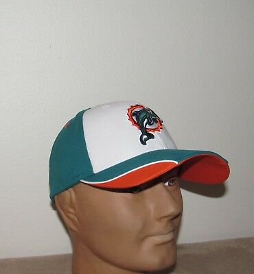 MIAMI DOLPHINS Baseball Hat NFL Football Adult One Size NEW Free Shipping (Miami Adult Hat)