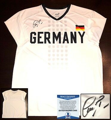 Germany Bastian Schweinsteiger Signed Jersey Chicago Fire Beckett BAS COA a7a19271e