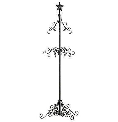 Palos Designs Tall Metal Christmas Stocking Holder Stand - Black ()