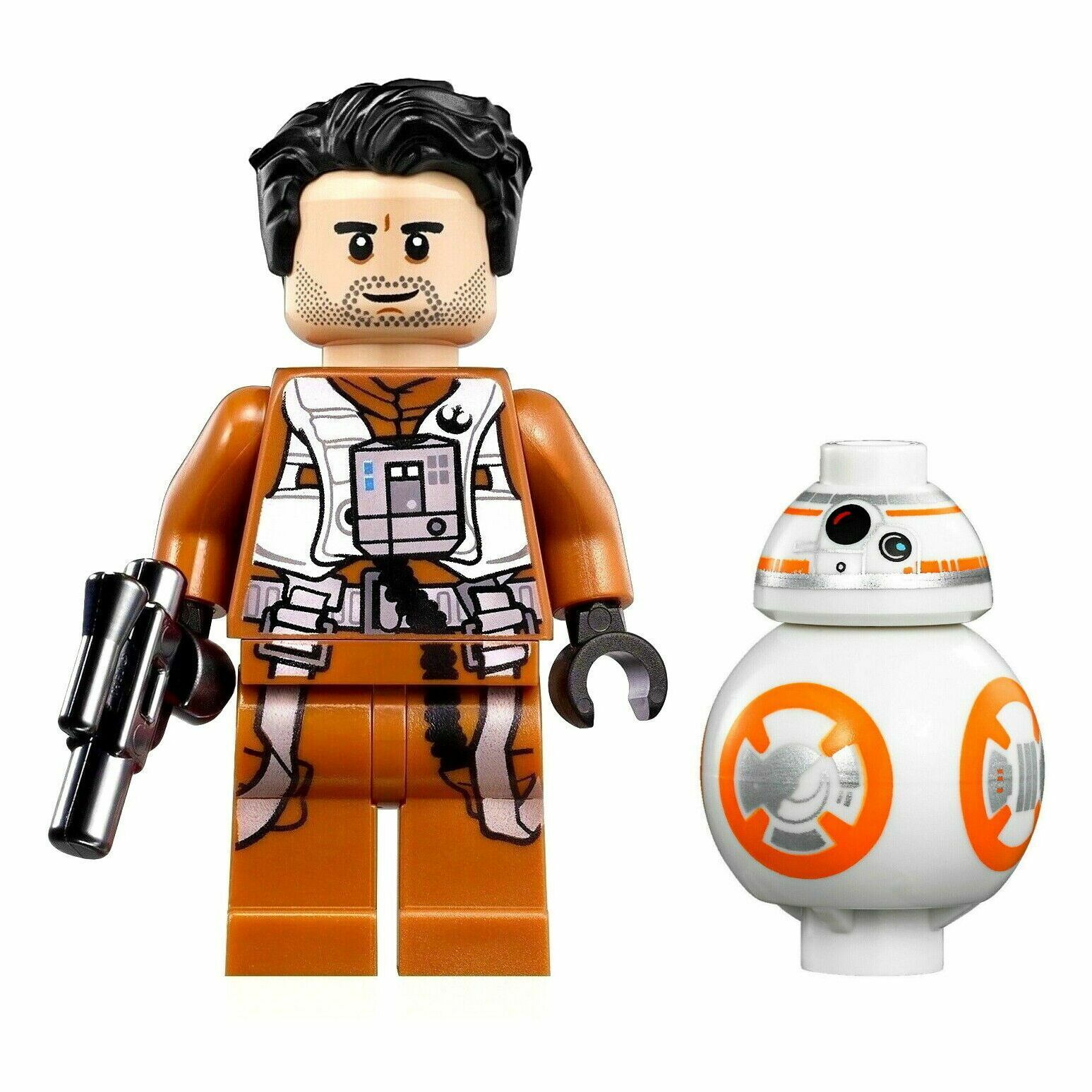 LEGO BB8 MINIFIGURE STAR WARS DROID ROBOT FORCE AWAKENS GENUINE COLLECTIBLE FIG