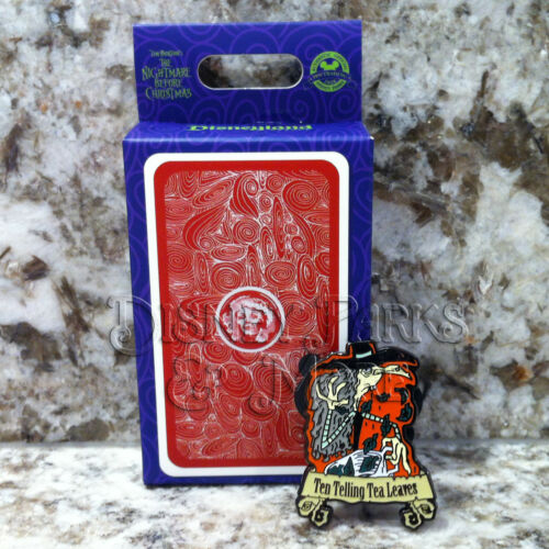Disneyland Haunted Mansion Nightmare Before Christmas Tarot Ten Tea Leaves Pin