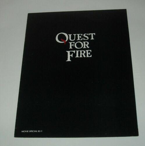 1982 QUEST for FIRE MOVIE PROMO PRESSBOOK RAE DAWN CHONG EVERETT McGILL PERLMAN