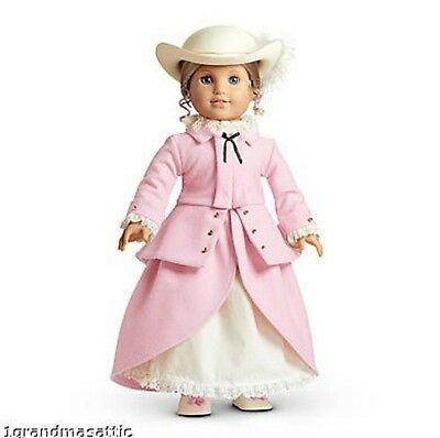 American Girl Elizabeth Riding Outfit NIB Hat Retired Jacket Hat