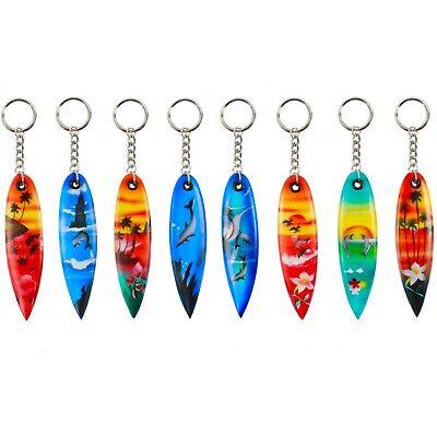 Surfboard Keyrings - 8 Design Options