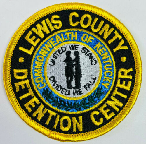 Lewis County Detention Center Kentucky KY Corrections DOC Patch (A4)