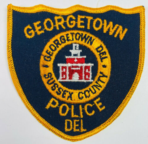Georgetown Police Sussex County Delaware DE Patch