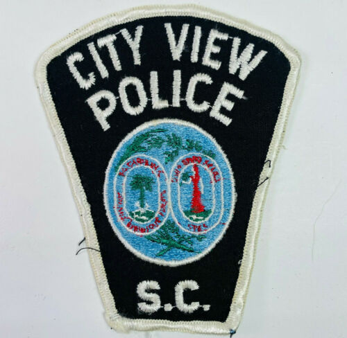 City View Police Greenville County South Carolina SC Patch (A3B)