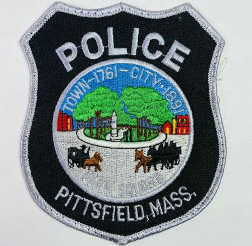 Pittsfield Police Berkshire County Massachusetts MA Patch A7B