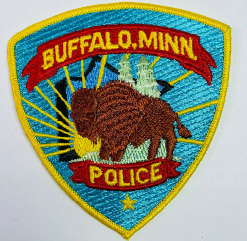 Buffalo Police Wright County Minnesota MN Patch (A1)