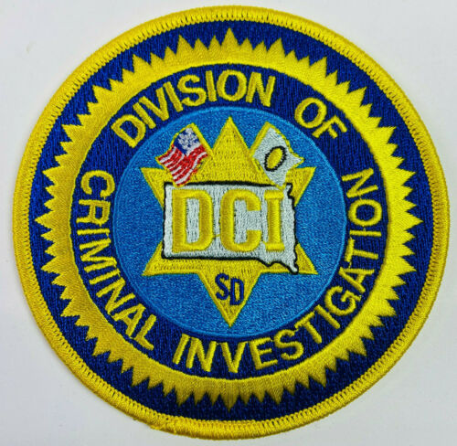 South Dakota Division of Criminal Investigation DCI SD Patch