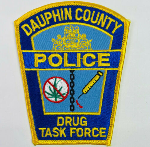 Dauphin County Police Drug Task Force Narcotics Unit Pennsylvania PA Patch (A1)