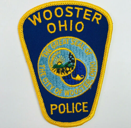 Wooster Police Wayne County Ohio Patch
