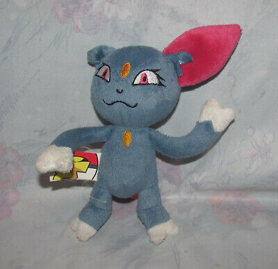 "Pokemon Plush Toy Vintage Sneasel - 6"" Tall - 2007 Jakks Pacific"