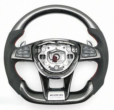 Mercedes Benz AMG lenkrad Carbon C63 C63s GTS C190 S63 W205 W222 W217 Tausch
