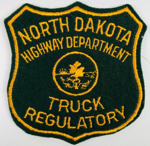 North Dakota Hwy Dept Truck Regulatory Commercial Vehicle Motor Carrier Patch
