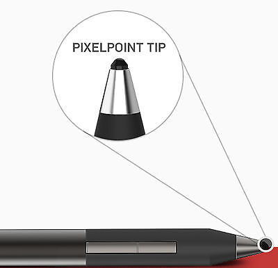 Adonit Jot Touch Pixelpoint Pressure Sensitive Stylus for iPad's - Black ADJTPPB