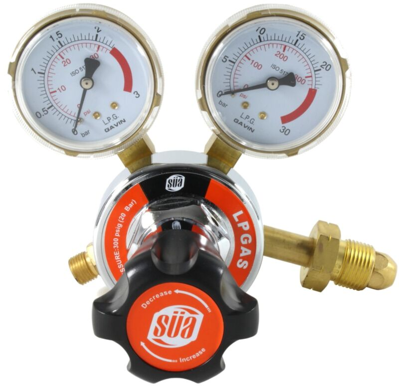 SÜA Propane Regulator - Welding Gas Gauges - 25HX Series