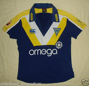 Warrington Wolves / 2007 Home - CANTERBURY; WOMENS rugby Shirt / Jersey. 10 (S?) - Poland, Polska - If an item is to be returned because you changed your mind (you do not like the color, size etc), you will have to cover the return shipping's fee. I do my best to describe the listed stuff as well as possible and the exact size numbers a - Poland, Polska