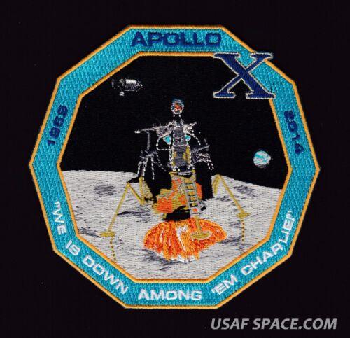APOLLO 10 45TH ANNIVERSARY -STAFFORD CERNAN- ORIGINAL Tim Gagon NASA Space PATCH