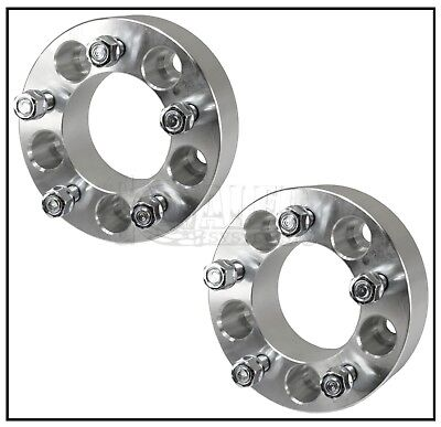 "Set of 2 Wheel Spacers 1.25"" Adapters 5x4.75 Fits El Camino Regal Cutlass Malibu"