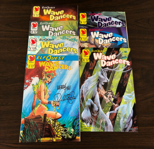 ELFQUEST WaveDancers COMPLETE SET 7 issues NEW (Warp #1 SIGNED)