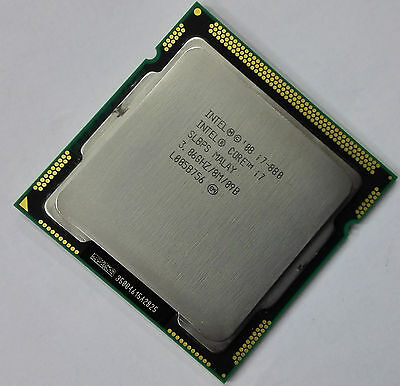 Intel Core i7-880 Desktop CPU BV80605002505AG LGA1156 95W 45nm Good condition