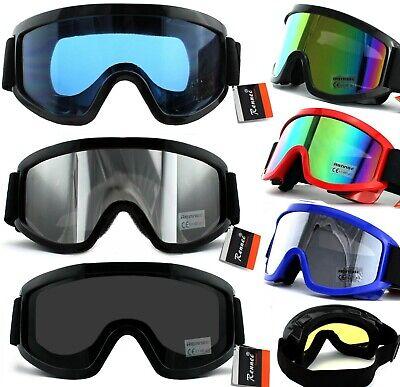 Skibrille UV400 Snowboard Brille Anti Fog Verspiegelt Damen Herren Rennec S2 S3