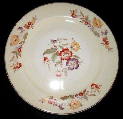 3 Bread Butter Dessert Plates Paden City Pottery PCP24 Pattern