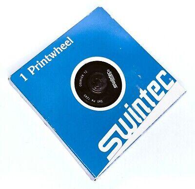 Swintec Courier 12 Printwheel Daisywheel Also Olympia Royal Sears Typewriters
