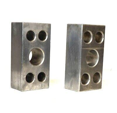 Pair Cast Aluminum Precision Machinist Set Up Parallel Blocks 12 X 6 X 4-18