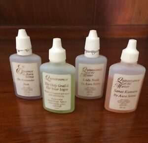 Aura Soma Products  Set Of 4 Pre-Loved
