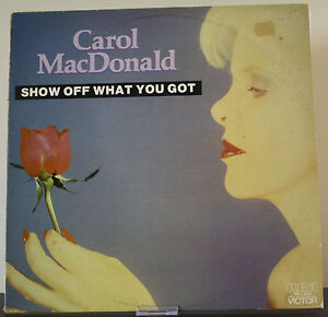 Carol-MacDonald-Show-Off-What-You-Got-vinyl-record-RCA-incs-AC-DC-cover