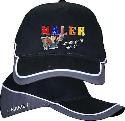 Malerhut Maler Basecap Baseball Cap Kappe Mütze Hut Geburtstag Shirt im Shop 1
