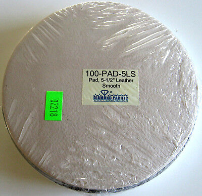 "rle LEATHER POLISH PAD w/1/4""-20 bolt  FOR GENIE, CABKING SMOOTH, used for sale  Camarillo"