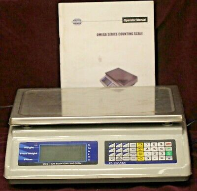 Fairbanks Scales 31788 Omega Counting Scale 100 Lbs X 0.002 Lbs 50 Kg X 1 G