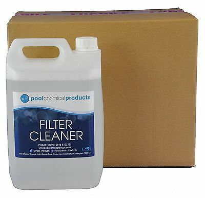 Filter Cleaner 20L Swimming Pool Spa Hot Tub EB