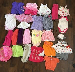 6-9 month girls lot