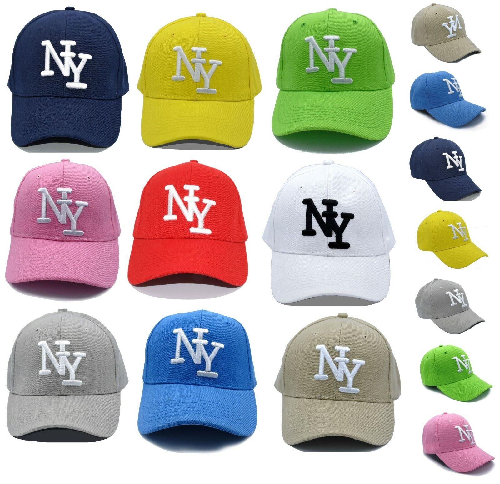 Cappy Kappe Cap NY gebogen Mütze Herren Damen Basecap Sportcappy Schirmkappe