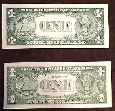 1935 + 1957 (2 NOTE LOT) Silver Certificate AU+ CU condition FREE SHIPPING!