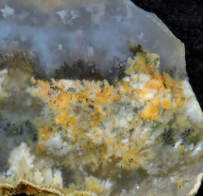 SSNW PINK LADY PLUME AGATE SLABS ~ gorgeous cabbing slices ~ fresh diggin's