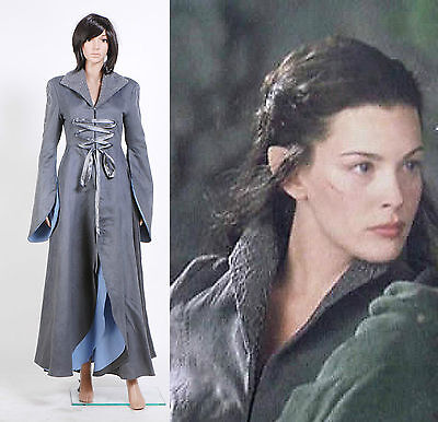 The Lord of the Rings Arwen Chase Dress Costume Halloween Party Cosplay - Arwen Halloween Costume