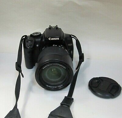 Canon Rebel XTi 10.1 MP Camera w/ AF 28-30 1:3.5-6.3 Promaster Lens Tested Works