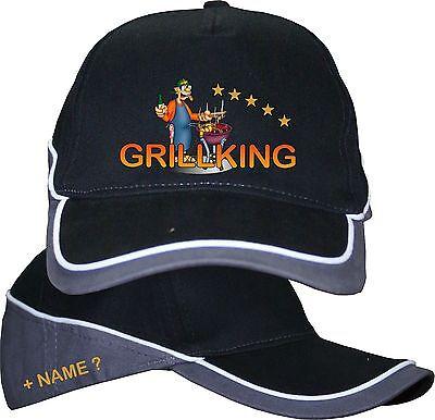 Grillgott Grillmeister Grillking Base Cap Kappe Basecap Mütze Grillmütze 14
