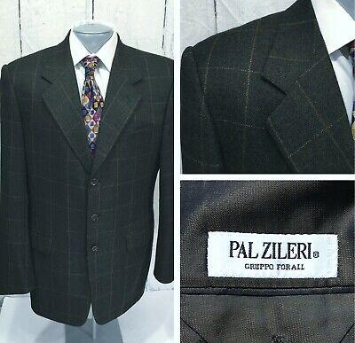 PAL ZILERI Loro Piana Sport Coat 42L (52eu) 3 Button Wool Cashmere Jacket Blazer