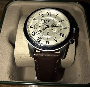 FOSSIL Mens Watch - Leather