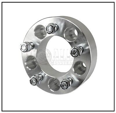 "1 X 5 Lug Wheel Spacers 5x4.75 1.25"" Thick 12mmx1.5 Chevy S10 Adapters 32mm"
