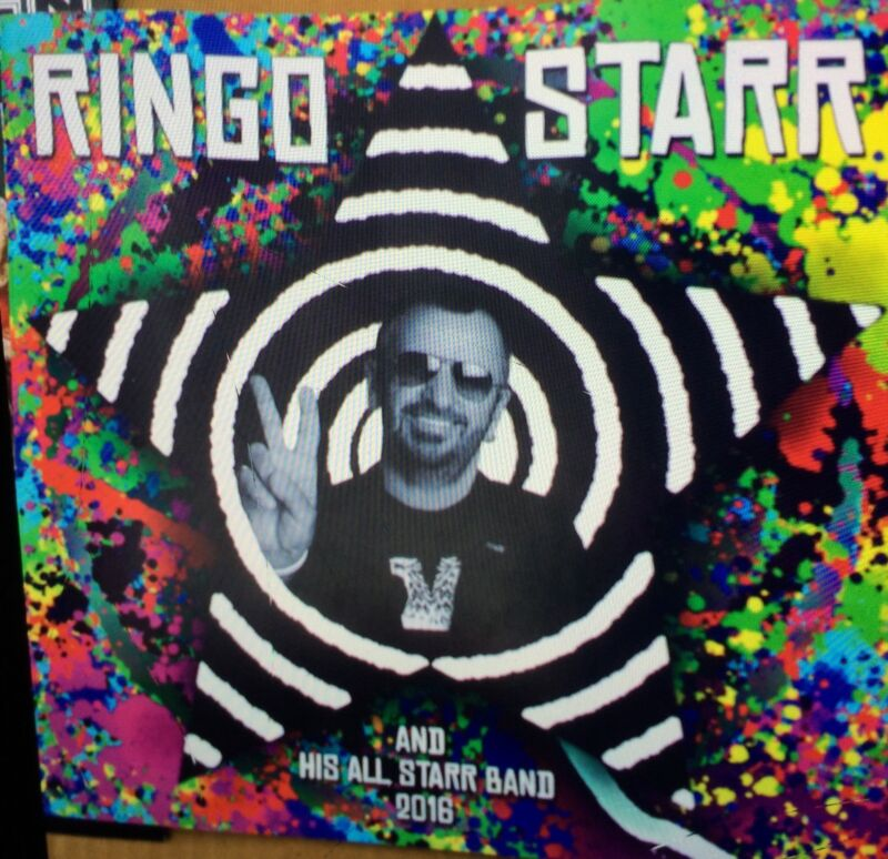 Ringo Starr 2016 Tour program