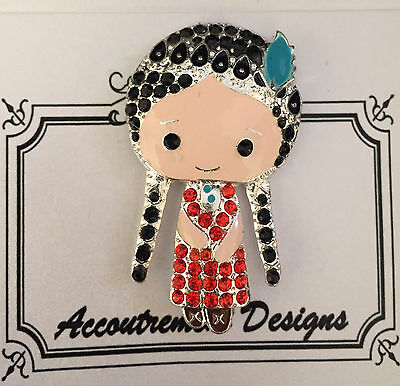 Accoutrement Designs Southwestern Ind Girl Needle Minder Magnet Mag Friends