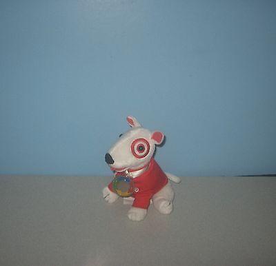 2007 Target Bullseye Dog Trainer Bull Terrier Plush Advertising Dog w/ Medallion